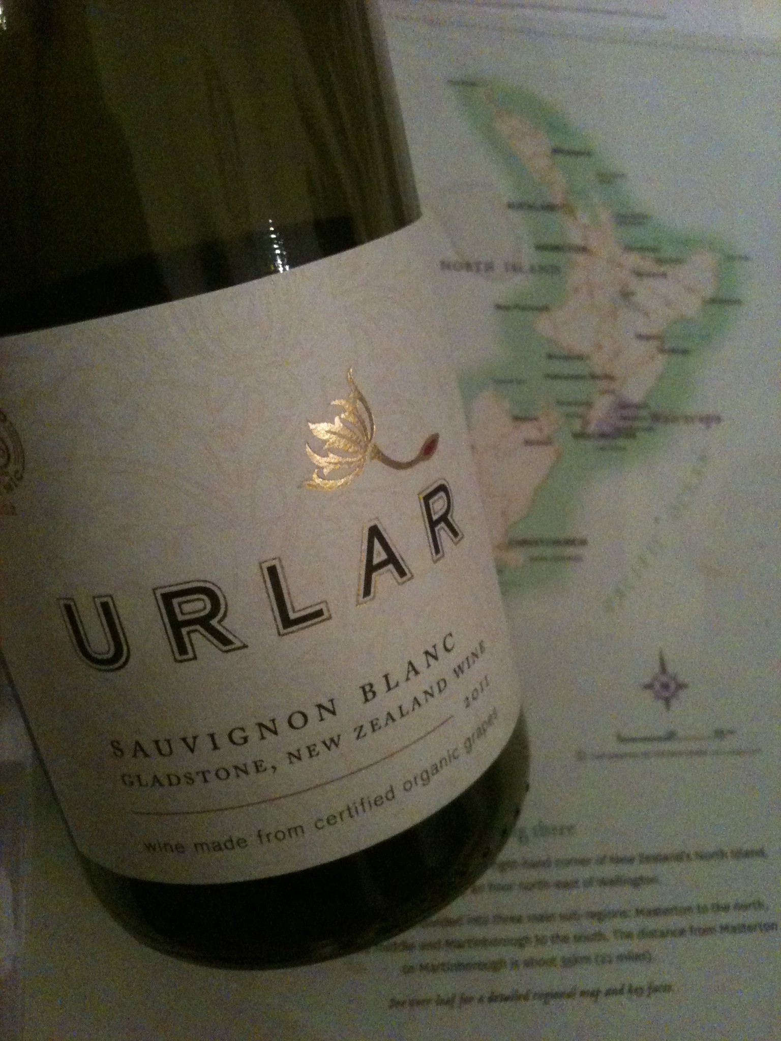 Delicious wine of New Zealand